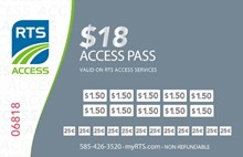 $18.00 RTS Access Pass Access-18Pass