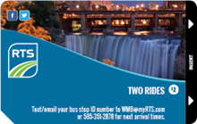 Two Ride Pass - Pack of Five 2Ride-5Pack