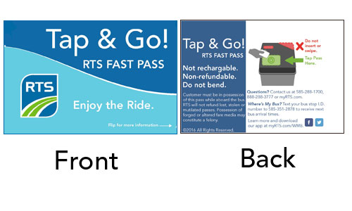 Tap & Go! RTS Fast Pass